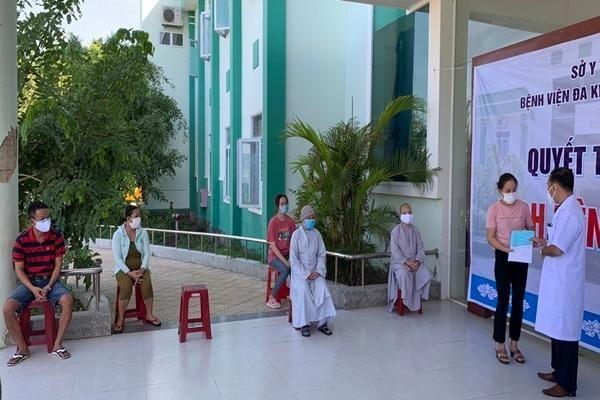 11 bệnh nhân Covid-19 ở Quảng Nam được xuất viện