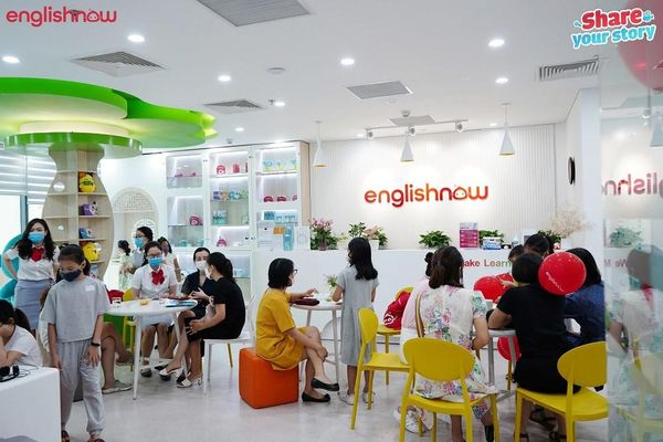 Nhiều bạn nhỏ thích thú tham gia cuộc thi tiếng Anh Englishnow Summer Contest