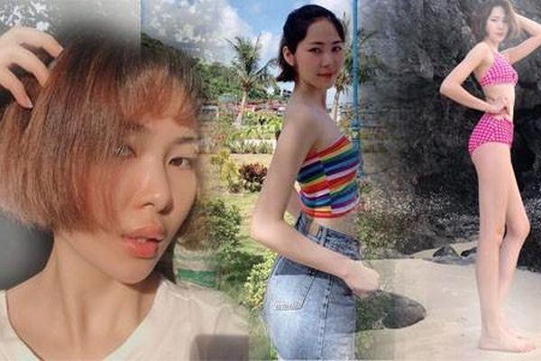 Nữ sinh sở hữu đôi chân dài 1,08m dự thi Hoa hậu Việt Nam 2020
