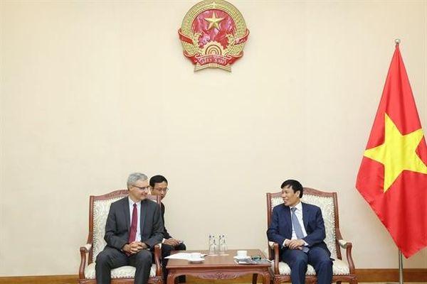 Việt Nam-Pháp: Tăng cường quan hệ hợp tác VHTTDL