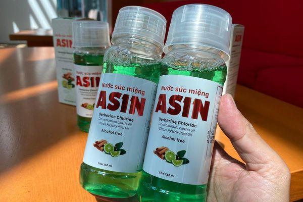 SHTPLAbs, BV Pharma và Pomax thương mại hóa nước súc miệng ASIN