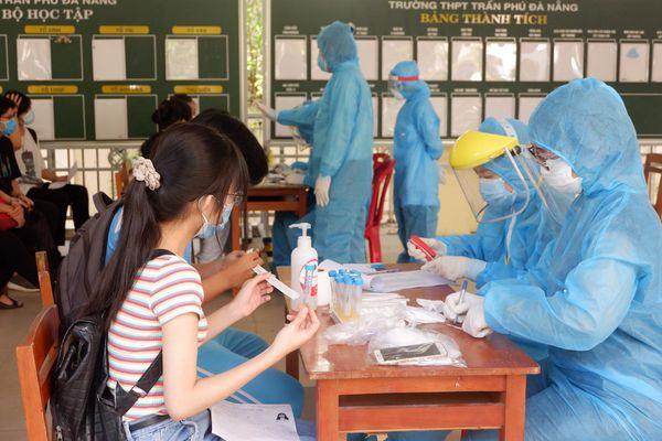 Đà Nẵng: Xét nghiệm cho gần 11.000 thí sinh tham dự kỳ thi tốt nghiệp THPT