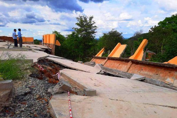 Công trình tiền tỷ sập sau mưa: Qua 3 tháng vẫn mù mờ nguyên nhân