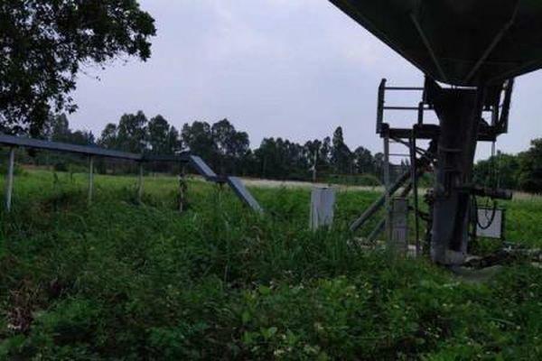 Cột ăng-ten Đài vệ tinh ở Hải Phòng đổ sập, một người tử vong