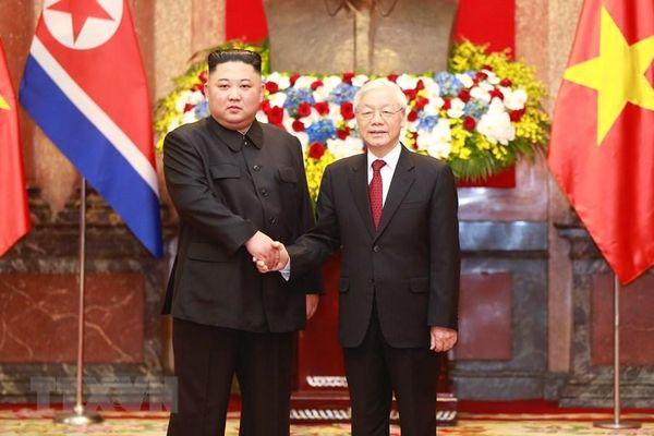 Nhà lãnh đạo Triều Tiên Kim Jong-un gửi điện mừng Quốc khánh Việt Nam