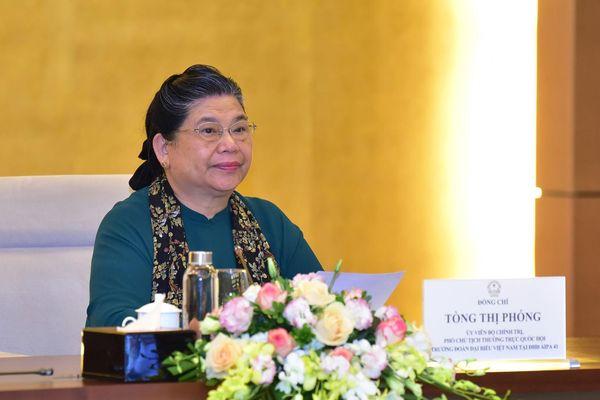 Các nước đã đồng thuận với Chương trình nghị sự của Đại hội đồng AIPA 41