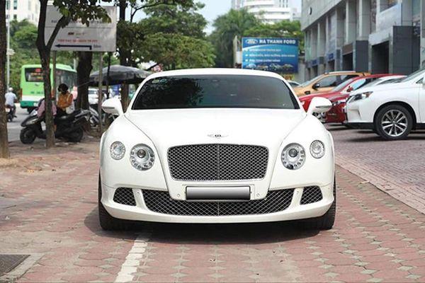 Bentley Continetal GT 'chạy lướt' chỉ hơn 6 tỷ ở Hà Nội