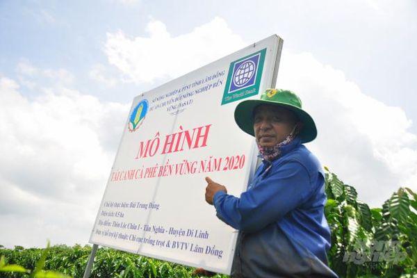 VnSAT thổi làn gió mới vào sản xuất cà phê Tây Nguyên