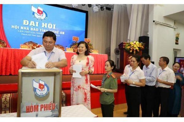 Đại hội Hội Nhà báo tỉnh Nghệ An lần thứ VIII – nhiệm kỳ 2020 – 2025