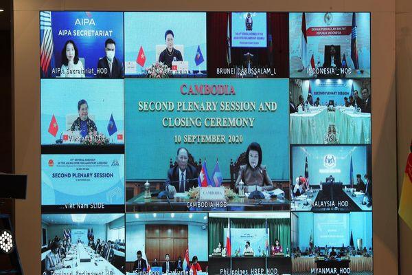 Nghị viện các nước đánh giá cao Quốc hội Việt Nam tổ chức thành công Đại hội đồng AIPA 41