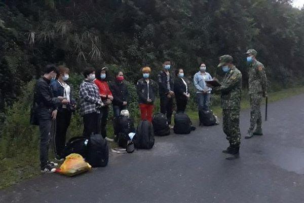 Trong 5 ngày, BĐBP Hà Giang ngăn chặn 195 công dân nhập cảnh trái phép