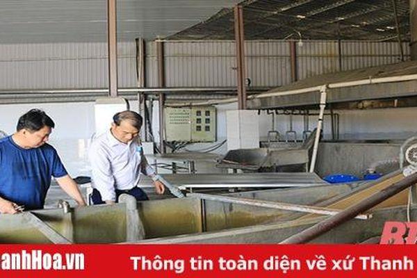 Bảo vệ môi trường tại các cơ sở chế biến thủy sản ở huyện Hoằng Hóa