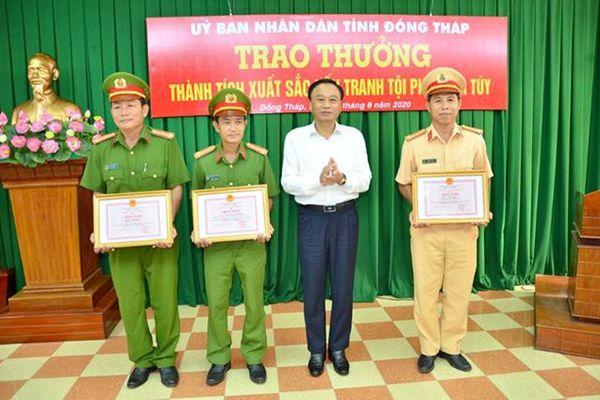 Đẩy mạnh phòng, chống ma túy trên địa bàn huyện biên giới Tân Hồng