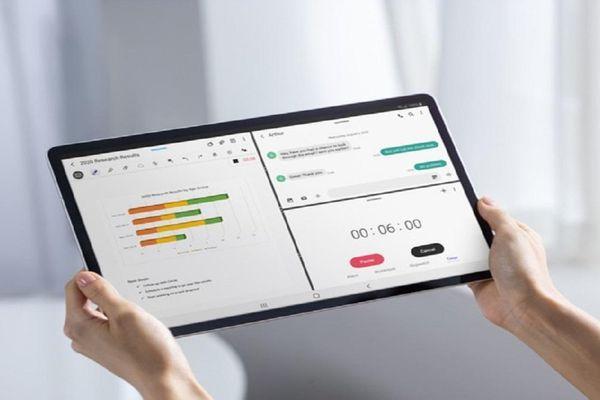 Galaxy Tab S7+: mạnh mẽ, tối ưu cho công việc