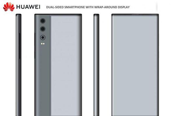 Huawei sẽ có smartphone màn hình bọc quanh thân máy?