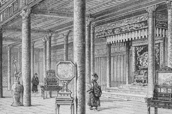 Nơi đặt ngai vàng của vua Nguyễn hơn 100 năm trước