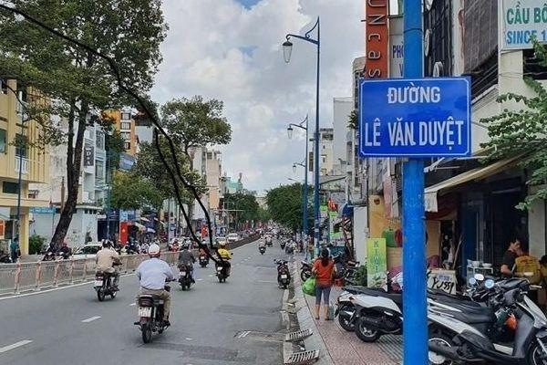 TP HCM chính thức có đường Lê Văn Duyệt
