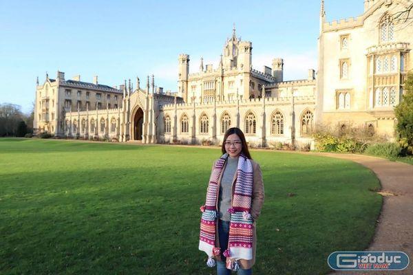 Bí quyết giành học bổng Thạc sĩ 1,2 tỷ đồng tại Đại học Cambridge