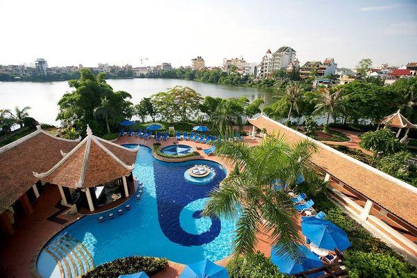 Sheraton Hanoi được bình chọn tốt nhất cho khách du lịch năm 2020
