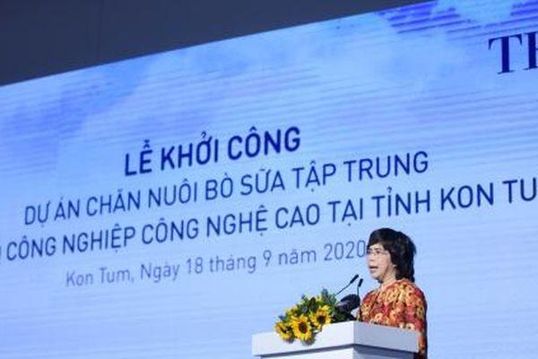 Tập đoàn TH khởi công dự án nuôi tập trung bò sữa lớn nhất Tây Nguyên