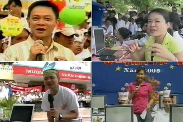 Trước 'giờ G' chung kết Olympia năm thứ 20, BTV Quang Minh bồi hồi chia sẻ lại loạt ảnh các điểm cầu truyền hình cách đây 15 năm