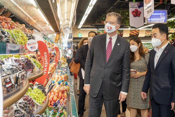 Hấp dẫn Hội chợ Thực phẩm Mỹ diễn ra tại LOTTE Mart Hà Nội và TP. Hồ Chí Minh