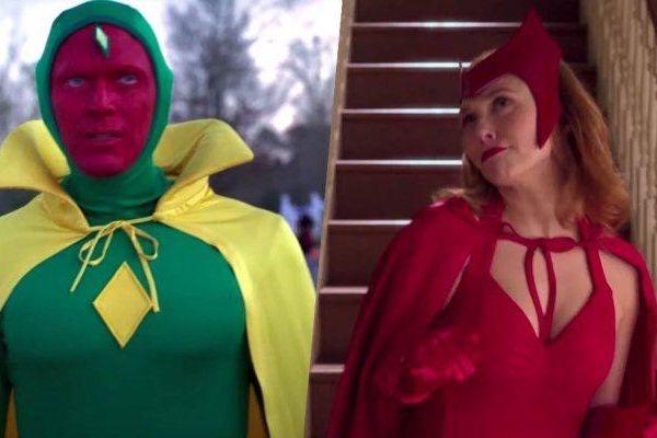 Tạo hình của Scarlet Witch và Vision trong phim mới hé lộ điều gì?