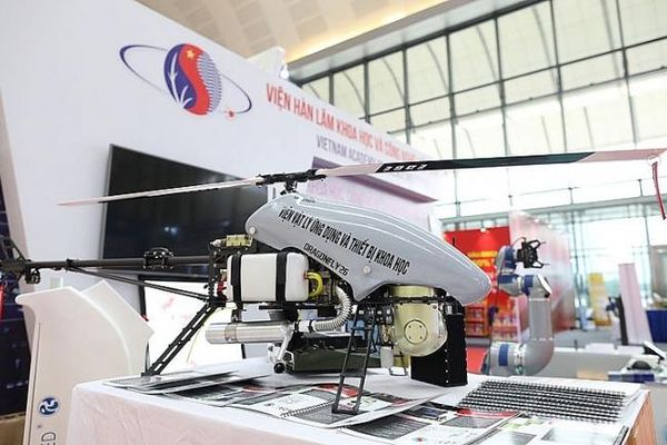 Trực thăng không người lái 'made in Vietnam' đã sẵn sàng thương mại hóa