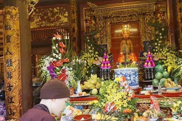 Bốn nghi thức cầu cúng ở đền Kiếp Bạc