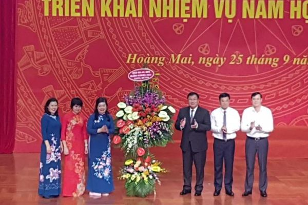 Mỗi năm học, quận Hoàng Mai tăng từ 4.000 - 5.000 học sinh