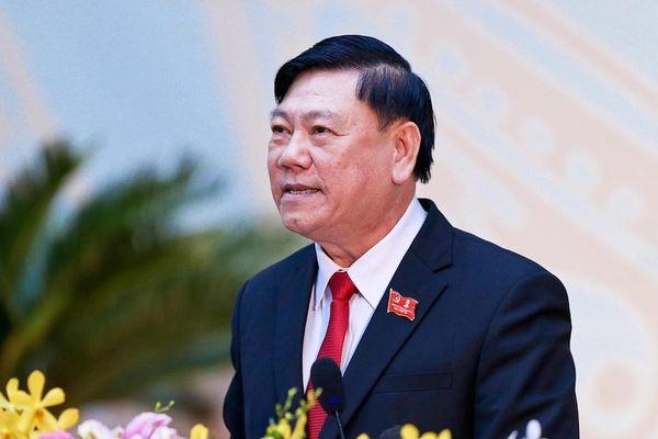 Ông Trần Văn Rón tái đắc cử chức Bí thư Vĩnh Long