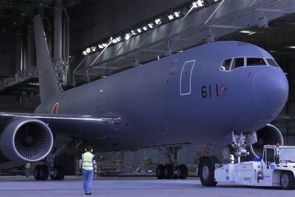 Boeing ra máy bay tiếp dầu KC-46A đầu tiên cho Nhật Bản