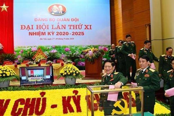 Đại hội đại biểu Đảng bộ Quân đội lần thứ XI nhất trí cao với Dự thảo các văn kiện trình Đại hội lần thứ XIII của Đảng