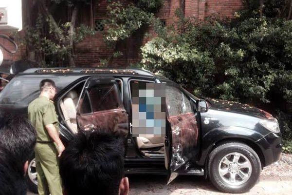 Đôi nam nữ tử vong trên ô tô đang nổ máy ở Thái Nguyên