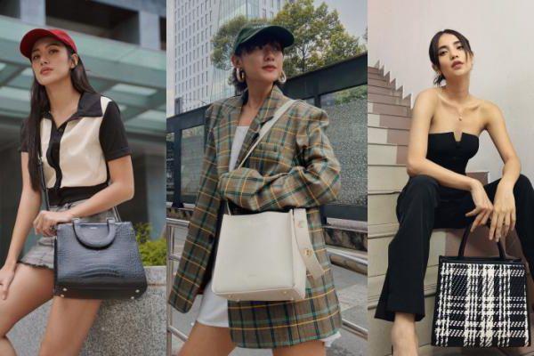 'Bỏ túi' outfit xuống phố cuối tuần của mỹ nhân 'The Face' Phan Ngân, Thu Anh và Linh Chi