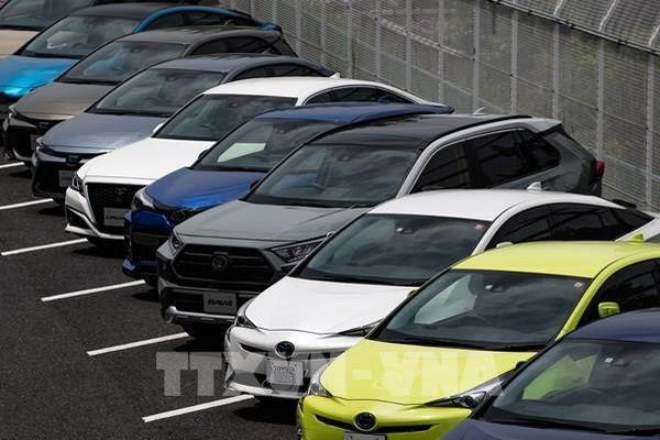 Nhật Bản: Doanh số ô tô giảm mạnh nhất trong 9 năm qua