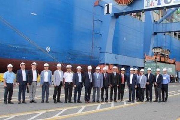 Doanh nghiệp Hàn Quốc hợp tác phát triển logistics với Tân Cảng Cái Mép
