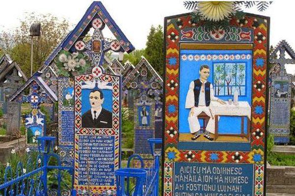Khám phá nghĩa trang vui vẻ ở Rumani