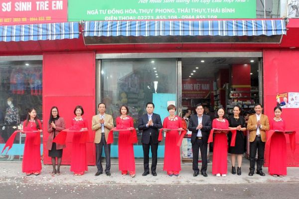 Điểm bán hàng Việt tỉnh Thái Bình: Hình thành nét đẹp văn hóa tiêu dùng