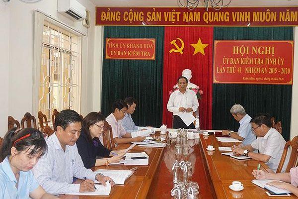 Hội nghị Ủy ban Kiểm tra Tỉnh ủy lần thứ 41
