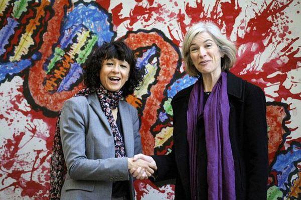 Giải Nobel Hóa học năm 2020 vinh danh hai nhà khoa học nữ