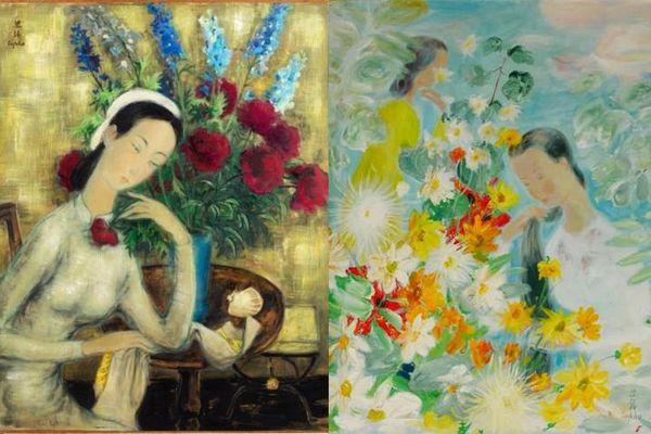 Hé lộ bức tranh của danh họa Lê Phổ vừa được bán với giá kỷ lục ở nước ngoài