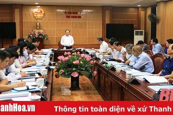 Báo cáo dự thảo Đề án 'Phát triển khoa học - công nghệ và đổi mới sáng tạo tỉnh Thanh Hóa, giai đoạn 2021 - 2025'