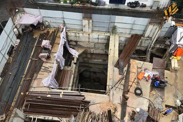 Dừng thi công, làm rõ việc cấp phép 4 tầng hầm cho nhà riêng lẻ