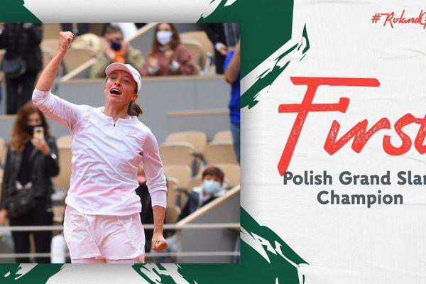 Tay vợt tuổi teen Iga Swiatek đăng quang Roland Garros 2020