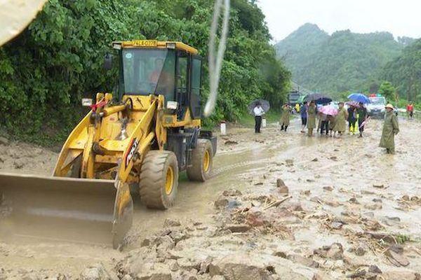 Mưa lũ gây thiệt hại nặng nề tại nhiều địa phương tỉnh Quảng Trị