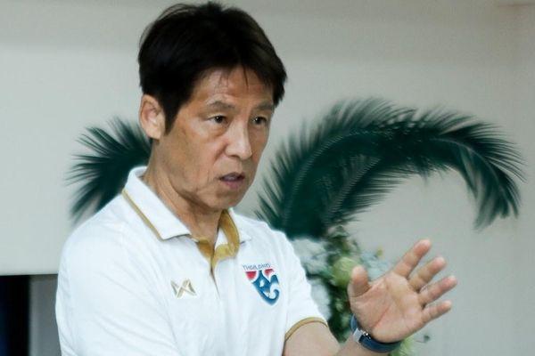 HLV Nishino lý giải trận thua đội hạng Nhì Thái Lan