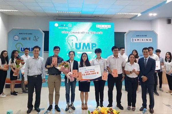 Dự án 'Chế tạo máy đo lực cắn ở người' đạt giải nhất Chung kết iUMP năm 2020