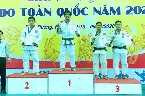 Judo Cần Thơ đoạt 6 huy chương giải vô địch quốc gia
