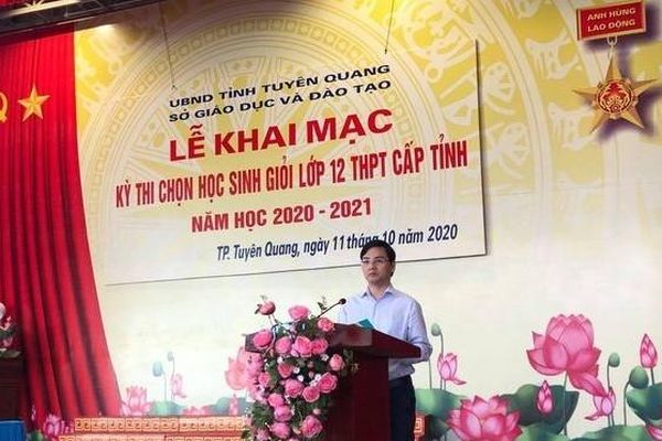 Tuyên Quang: 660 thí sinh dự thi chọn học sinh giỏi khối 12